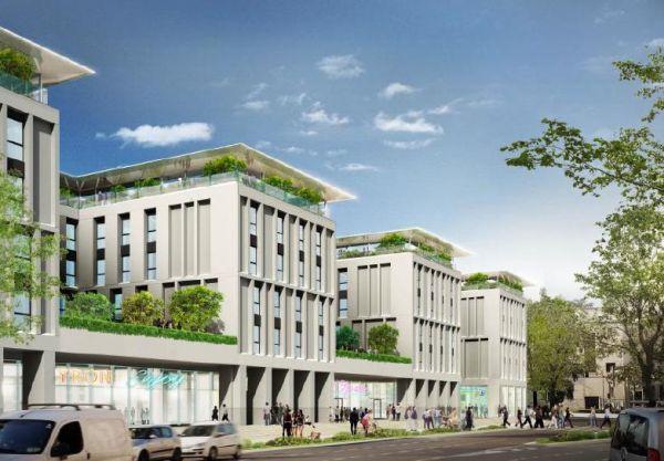 The Student Hotel, Firenze Belfiore, rendering tetto verde