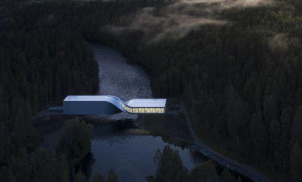The twist: in Norvegia il ponte che diventa un'opera d'arte