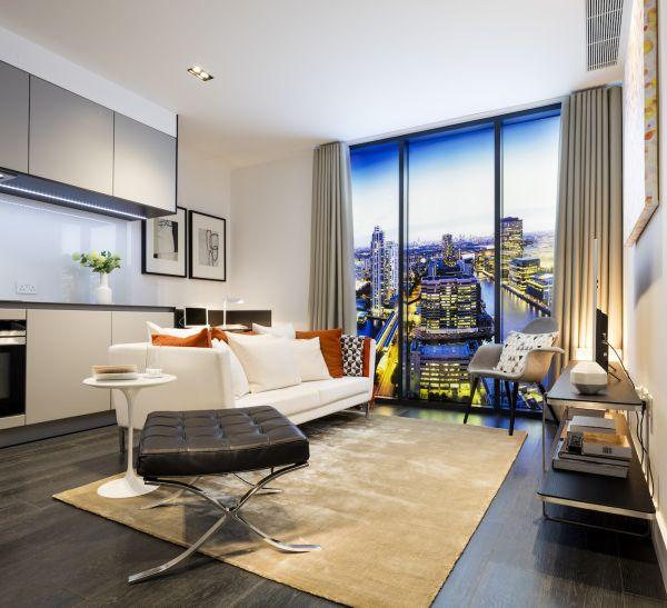 Vista mozzafiato su Londra dagli appartamenti di The Madison