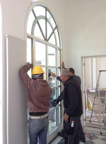Distanziatori Thermix per le nuove finestre dell'Ambasciata tedesca del Cile