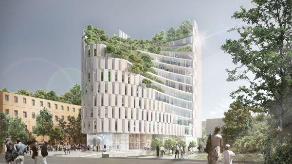MET, edificio a spirale a Tirana firmato Mario Cucinella Architects