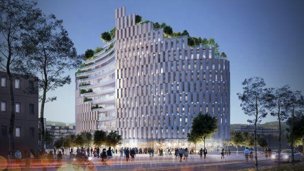 Il Met di Tirana (render, ©Mario Cucinella Architects)