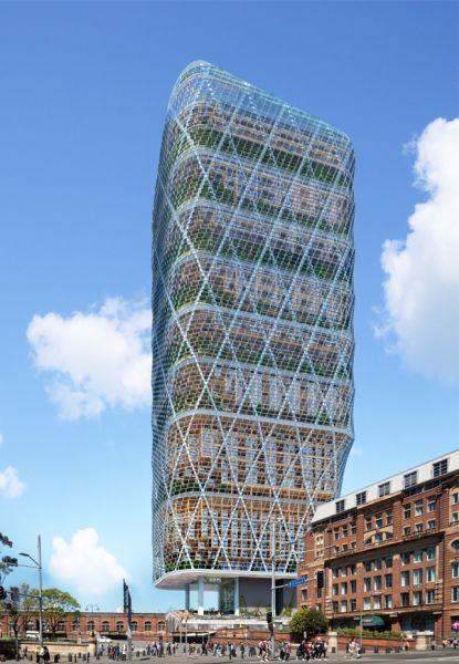Sydney: progettata la torre in legno più alta del mondo