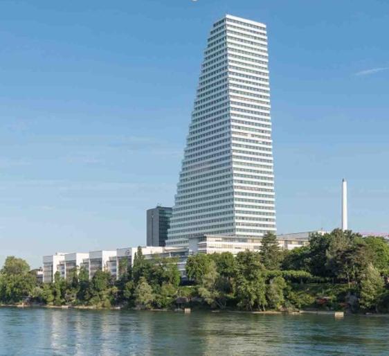 La Roche Tower di Basilea. Foto:  F. Hoffmann-La Roche AG