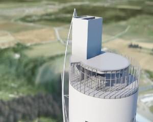 Torre Rottweil, la più alta torre di collaudo al mondo