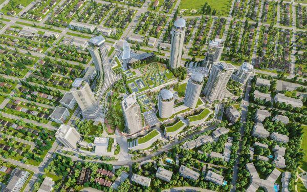 I 10 grattacieli di Vancouver Oakridge