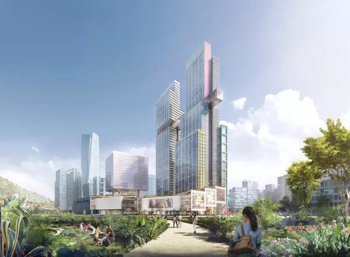 CMG Qianhai Global Trade Center a Shenzhen