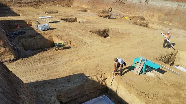 Trattamento impermeabilizzante dello scavo