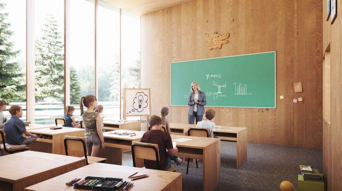Tree house school, Una scuola modulare, ispirata alla casa sull'albero
