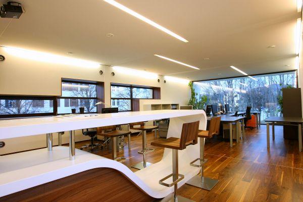 Interno studio di architettura Viereck Architekten