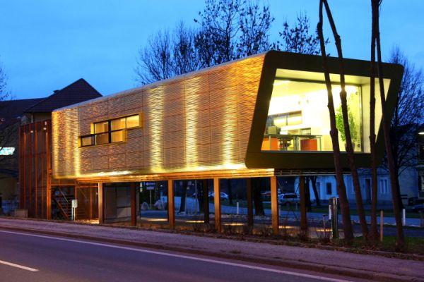 Impermeabilizzanti Triflex per il il primo sistema modulare in legno con facciata tridimensionale in rame