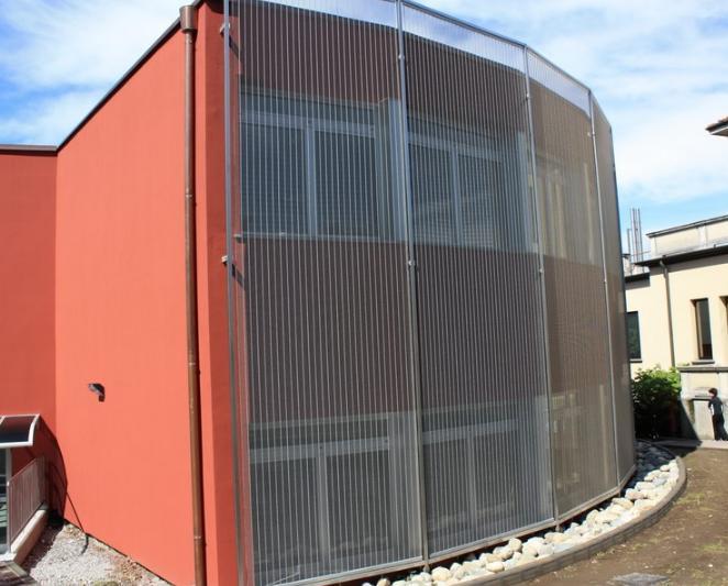 Isolamento termico e risparmio energetico per un'originale soluzione ombreggiante e schermante a cura di TTM Rossi