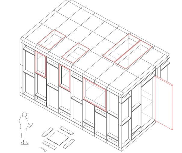 Progetto di autocostruzione della propria abitazione di studio Bark