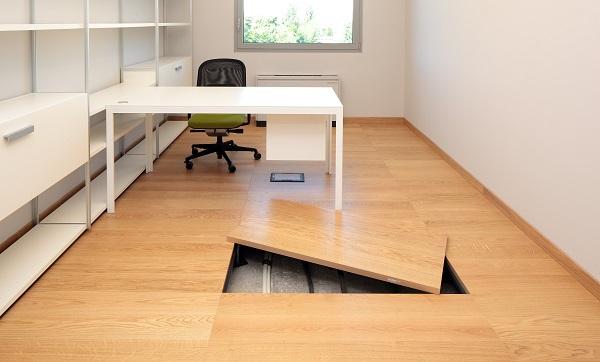 Pavimento sopraelevato newfloor - Pavimento galleggiante per interni ...