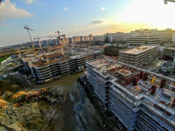 Casseforme Ulma per la realizzazione nella periferia sud-est di Milano di un nuovo quartiere residenziale