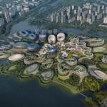 Unicorn Island: l'hub sostenibile di Zaha Hadid dedicato alle startup
