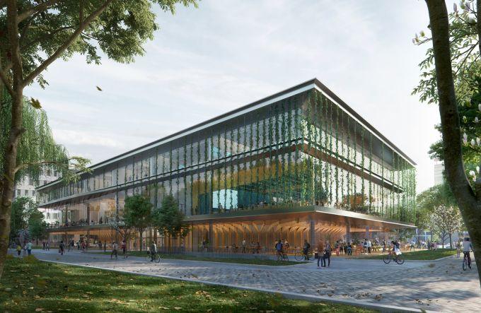Echo: il campus del futuro è flessibile e sostenibile