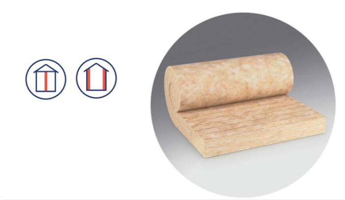 URSA PureOne TWF 37 è un pannelli in lana minerale termoacustica