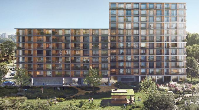 Valckensteyn: il complesso residenziale sostenibile di Rotterdam