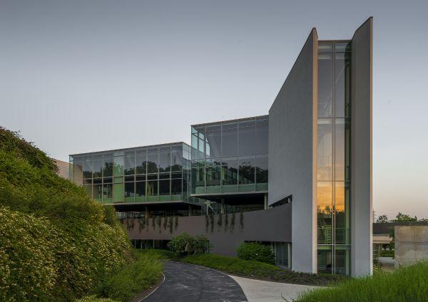 Progetto della nuova sede del gruppo Prada di Valvigna, Arezzo.
