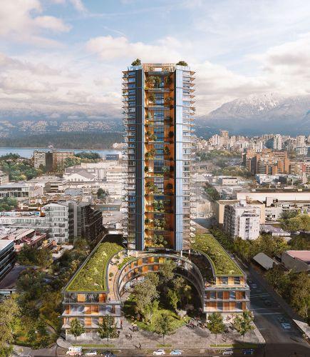 Canada's Earth Tower: a Vancouver il grattacielo in legno e calcestruzzo più alto al mondo