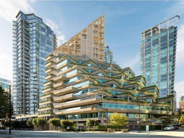 Il grattacielo in legno Terrace House realizzato a Vancouver