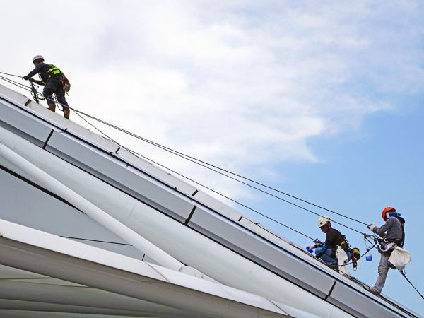 I vantaggi dell'edilizia acrobatica
