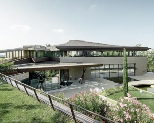 Ristorante del resort La Varignana: il lato sorprendente dell'architettura
