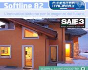 Finestraitaliana.it: scopri Softline 82 il nuovo profilo in classe A Veka!