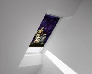 Finestra per tetti velux 62 a isolamento acustico for Rivenditori velux roma