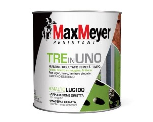 TRE in UNO, lo speciale smalto MaxMeyer