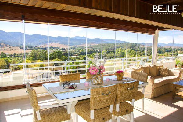 Belle Vetrate Scorrevoli: le vetrate panoramiche che ti permettono ...