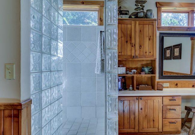 Utilizzo del vetromattone per le pareti divisorie e particolari finestre
