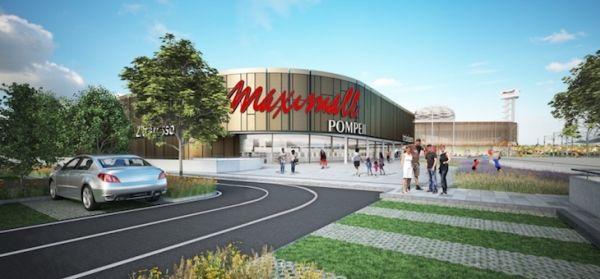 Nuovo centro commerciale Maximall Pompeii