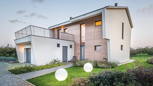 Villa Bagnacani realizzata da Rubner Haus