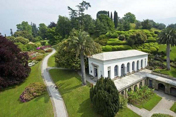 I due vincitori del concorso Il Parco più Bello d'Italia 2016 Villa Melzi d'Eril a Bellagio (Como) - fotografo Franco Papetti