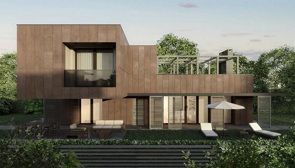 Villa realizzata con Normablok Più