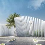 Nuova centrale tecnologica a servizio dell'ospedale Villa Erbosa a Bologna