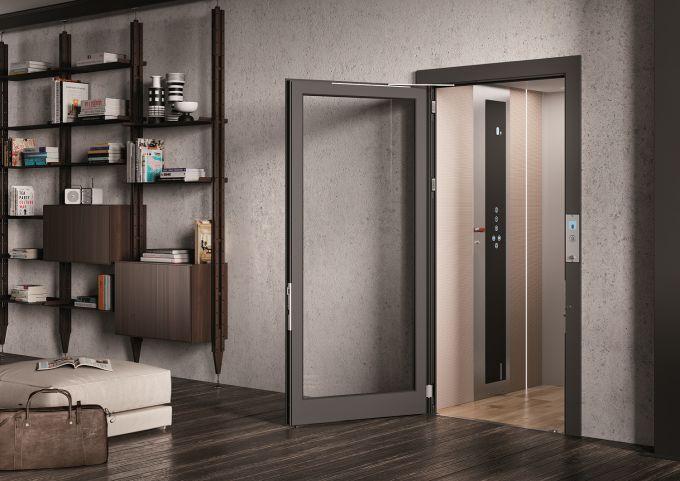Home Lift E20, un ascensore per la casa di Vimec
