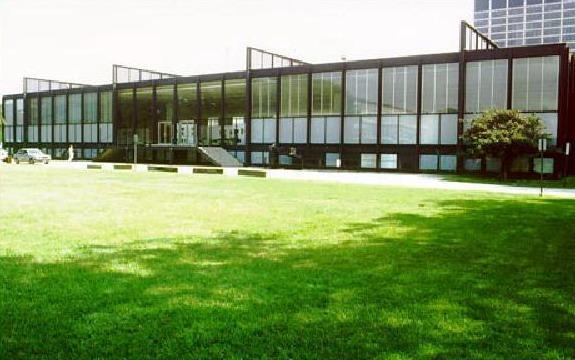 Vista esterna dell'edificio