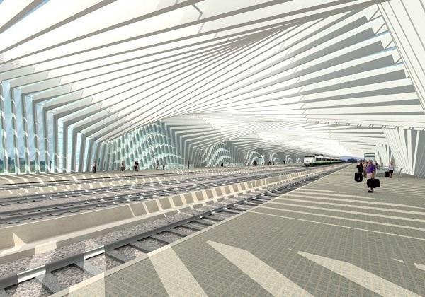 Vista interna della stazione