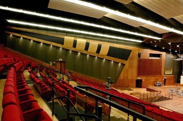 Sedute dell'auditorium