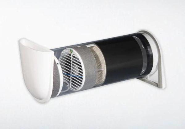 Vitovent 100-D di Viessmann è un sistema decentralizzato di ventilazione meccanica controllata