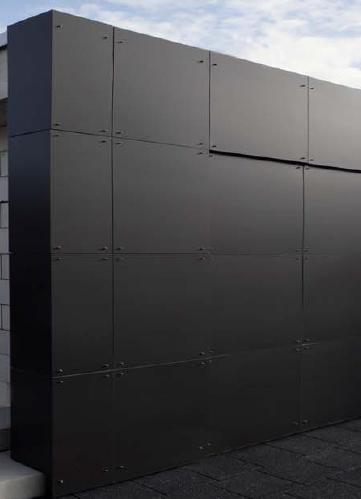 VM Zinc propone i pannelli VMZ Composite in zinco per facciate ventilate