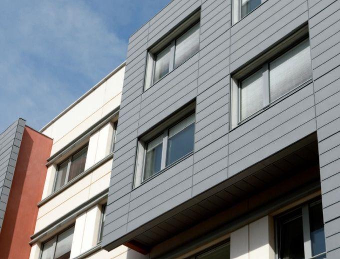 VM Zinc -Sistema di facciata ventilata a doghe