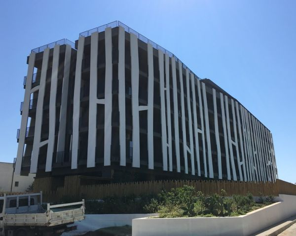 Impermeabilizzanti Volteco per facciate e balconi del Blanco Hotel, Castellaneta Marina