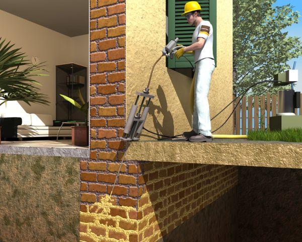 URETEK WALLS RESTORING per il consolidamento delle opere murarie