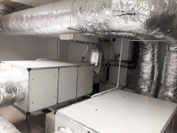 Wavin: unità di ventilazione meccanica bidirezionale per il trattamento dell'aria UVN8A-3000S
