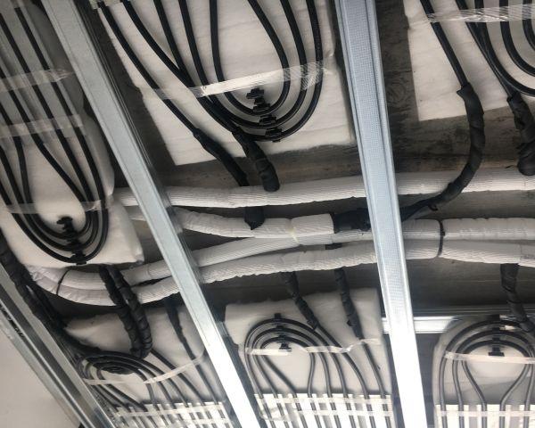 Wavin pannelli radianti a soffitto Wavin Chemidro CD-4 per La Casa della Musica di Sondrio