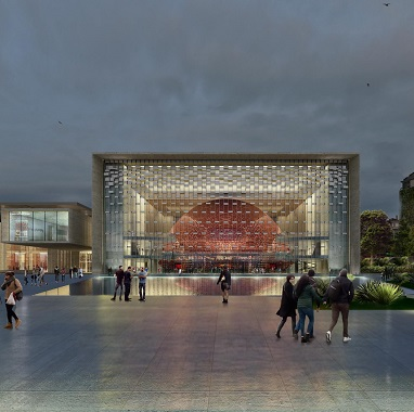 Ataturk Culture Center, progetto vincitore del World Architecture Festival Award